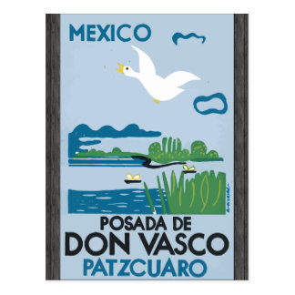 Mexico Posada De Don Vasco Patzcuaro, Vintage Postcards