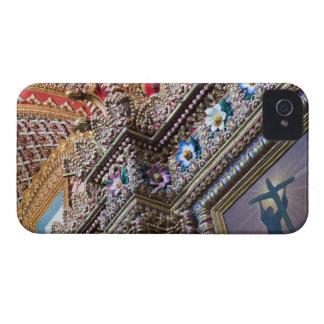Mexico, Queretaro. Detail inside ornate Catholic Case-Mate iPhone 4 Cases