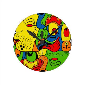 Mexico Round Clock