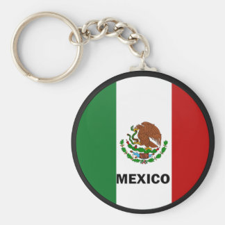 Mexico Roundel quality Flag Key Ring