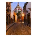 Mexico, San Miguel de Allende. Early morning Postcard