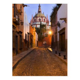 Mexico, San Miguel de Allende. Early morning Postcard