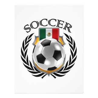 Mexico Soccer 2016 Fan Gear 21.5 Cm X 28 Cm Flyer