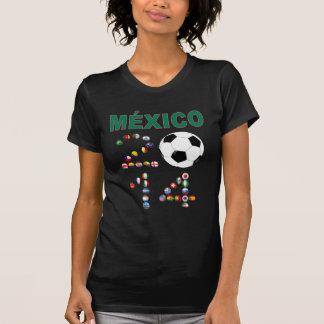 Mexico Soccer 2641 T-shirt