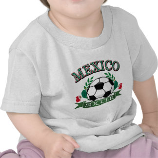 Mexico soccer ball designs tshirt