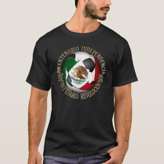 Mexico Soccer Ball T-Shirt