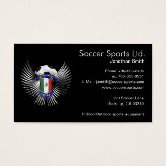 Mexico Soccer Champions Business Card