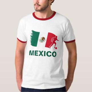 Mexico Soccer Flag Tshirts