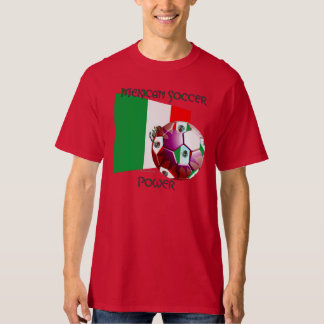 Mexico Soccer Power Men's Tall T-Shirt