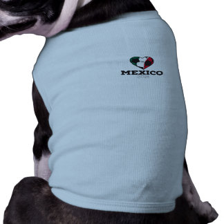 Mexico Soccer Shirt 2016 Sleeveless Dog Shirt