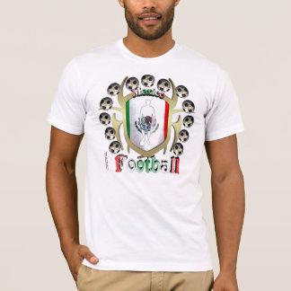 Mexico Soccer Tribal Shield Men's T-Shirt