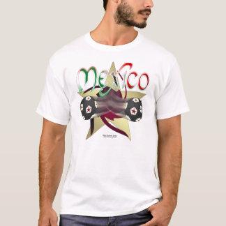 Mexico Star Soccer Men's Shirt