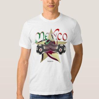 Mexico Star Soccer Men's T-Shirt