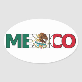 Mexico Sticker (Oval)