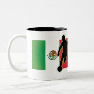Mexico Striker 4 & Mexico Striker 3 Two-Tone Coffee Mug