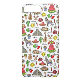 Mexico | Symbols Pattern iPhone 8 Plus/7 Plus Case