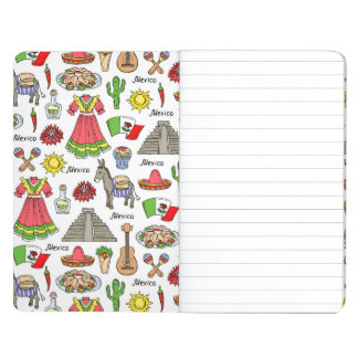 Mexico | Symbols Pattern Journal