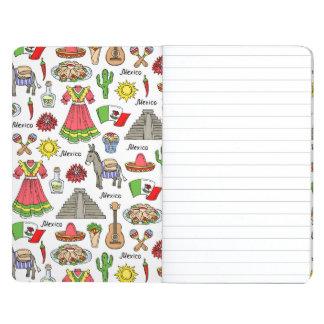 Mexico | Symbols Pattern Journals