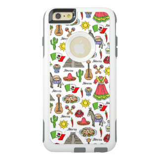 Mexico | Symbols Pattern OtterBox iPhone 6/6s Plus Case