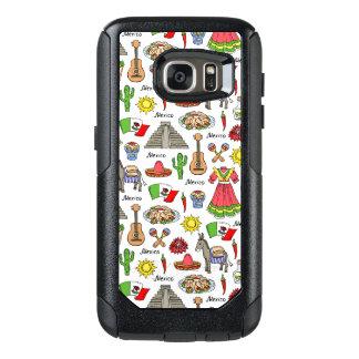 Mexico | Symbols Pattern OtterBox Samsung Galaxy S7 Case