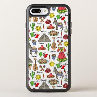 Mexico | Symbols Pattern OtterBox Symmetry iPhone 8 Plus/7 Plus Case