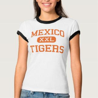 Mexico - Tigers - High School - Mexico New York T-Shirt