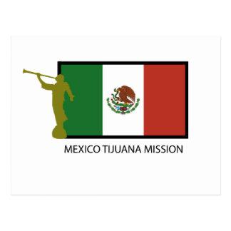 MEXICO TIJUANA MISSION LDS CTR POSTCARD