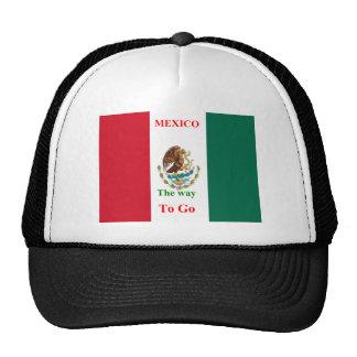 Mexico travel trucker hats