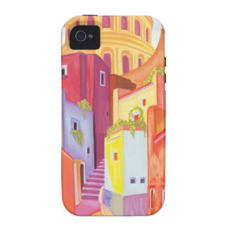 Mexico Travel Poster Vibe iPhone 4 Cases
