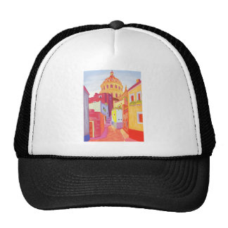 Mexico Travel Poster Mesh Hat