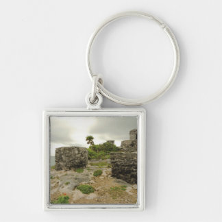 Mexico Tulum ancient ruins Key Chain