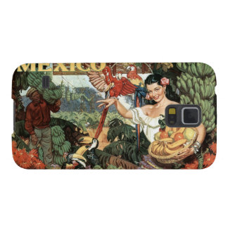 Mexico vintage travel cases case for galaxy s5