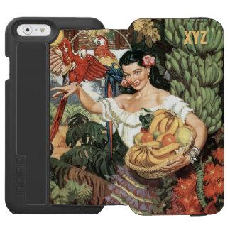 Mexico vintage travel custom monogram wallet cases incipio watson™ iPhone 6 wallet case