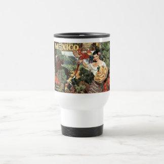 Mexico vintage travel mugs