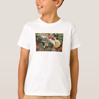 Mexico Vintage Travel Poster T-Shirt