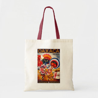"""""""Mexico"""" Vintage Travel Poster Bag"""