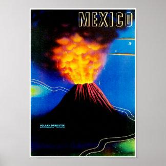 Mexico ~ Volcano Paricutin Poster