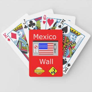 Mexico Wall Bicycle Playing Cards