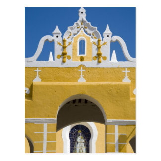 Mexico, Yucatan, Izamal. The Franciscan Convent Postcard