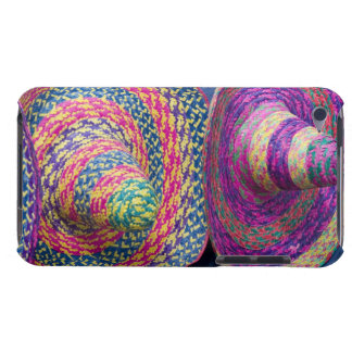 Mexico, Yucatan, Merida, traditional woven iPod Touch Cases