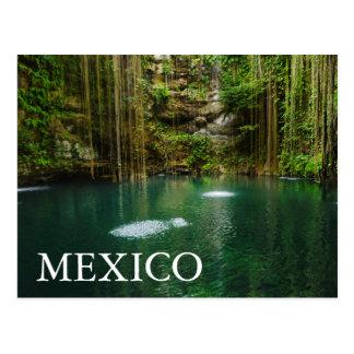 Mexico, Yucatan, Scenic Lake Postcard