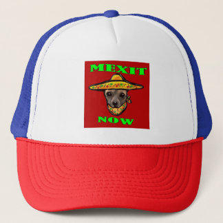 MEXIT NOW TRUCKER HAT