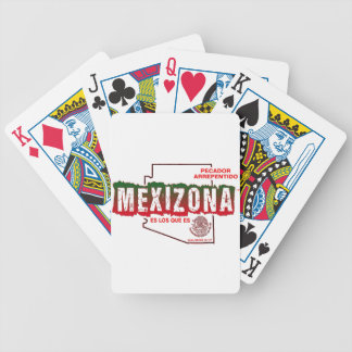 MEXIZONA BICYCLE PLAYING CARDS