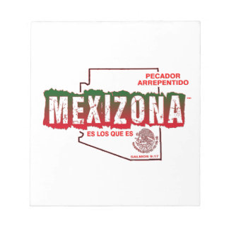 MEXIZONA NOTEPAD