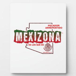 MEXIZONA PLAQUE