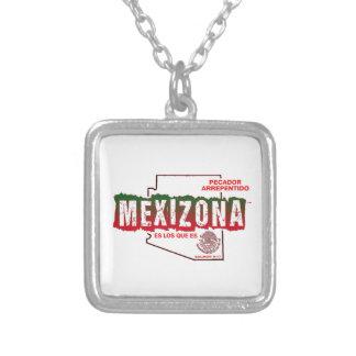 MEXIZONA SILVER PLATED NECKLACE