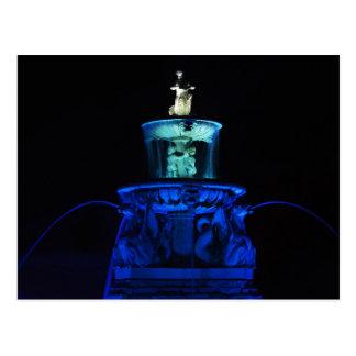 Meyer Circle Sea Horse Fountain, Kansas City Postcard