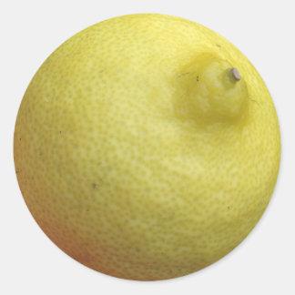 Meyer Lemon Classic Round Sticker