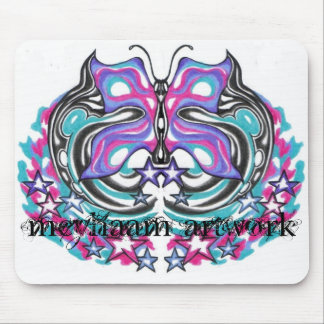meyhaam butterfly artwork mouse pad