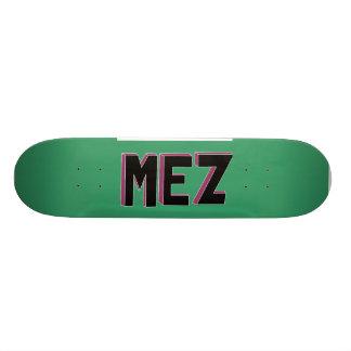 Mez Bold Letters Deck Skateboards